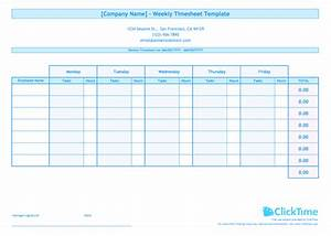 weekly timesheet template for multiple employees clicktime With multiple employee timesheet template free