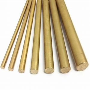Rigipsplatten 6 5 Mm : brass round bar rod cz121 4mm 5mm 6mm 7mm 8mm 10mm 12mm ~ Michelbontemps.com Haus und Dekorationen