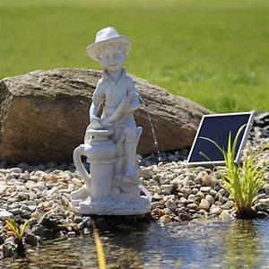 Springbrunnen Für Teich : solar teich springbrunnen wasserspeier nsp11 b bchen mit pumpe ~ Eleganceandgraceweddings.com Haus und Dekorationen