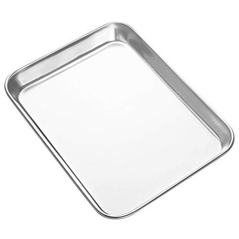 oven toaster farberware fryer air cookie sheets baking stainless mini steel tray pan pans inch mirror rectangle finish superior cooking