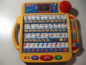 vtech little smart alphabet picture desk learning system
