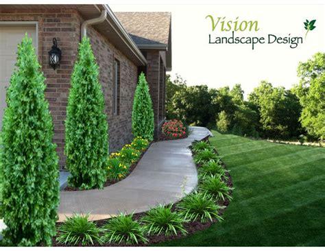 pin  ronda kimbrough  home  sidewalk landscaping front walkway landscaping