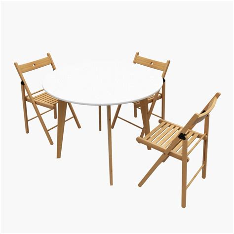 wooden kitchen table ikea 3d max