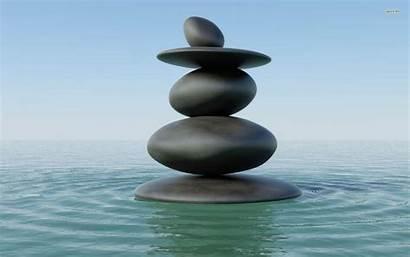 Zen Desktop Water Wallpapers Stones 4k Adorable