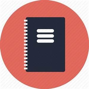 Notebook Notepad Journal Book Report Guide Manual Flat