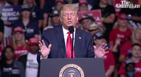 特朗普3个月来首次举行竞选集会,三大问题引关注_腾讯新闻