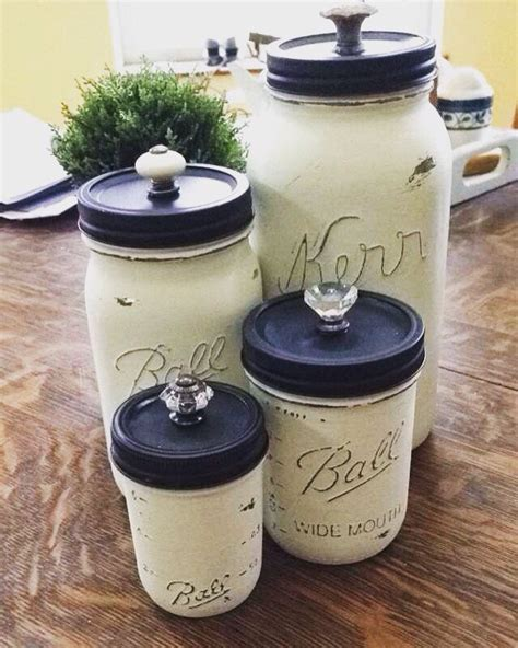 Jars Kitchen Decor by Jar Canisters Crafting Issue Doors Jar