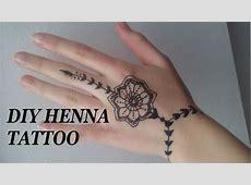 diy henna tattoo leichtes motiv fr anfnger youtube - Henna Muster Fur Anfanger