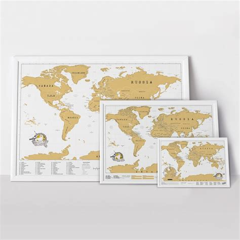 Large World Map Poster