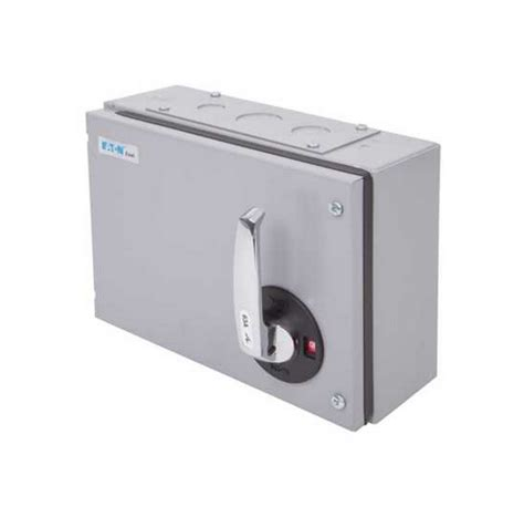 Eaton Mem Axtn Exel Grey Three Phase Tpn Switch