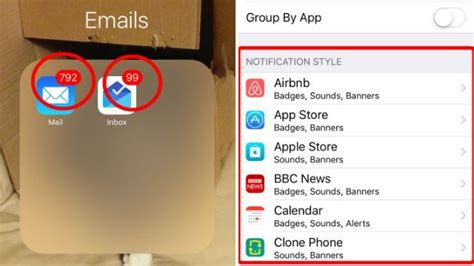 how to get rid of emails on iphone how to remove notifications from iphone apps metro news