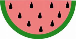 Slice Of Watermelon Clip Art at Clker.com - vector clip ...