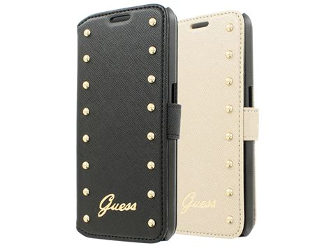 guess studded folio samsung galaxy  hoesje