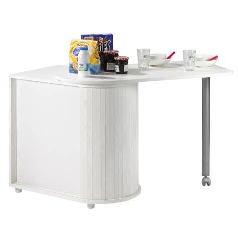 meuble table cuisine table pivotante et meuble de rangement de cuisine blanc beaux meubles pas chers