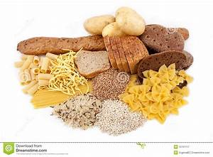 Carbohydrate Products With Potato Stock Image