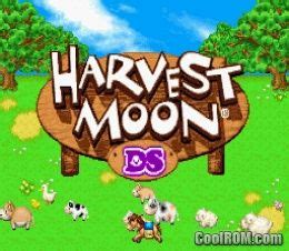 harvest moon ds rom   nintendo ds nds