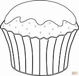 Muffin Coloring Drawing Pages Template Dessert Cupcake Desserts Cute Cake Clipart Food Cupcakes Ice Cream Clipartmag Muffins Printable Molar Tooth sketch template