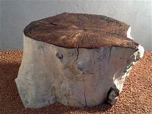 Table Basse En Bois Flotté : table basse en bois flott avec plateau verni et teint ~ Teatrodelosmanantiales.com Idées de Décoration