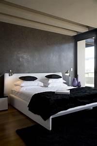 Wand Schwarz Streichen : maltechniken farbeffekte wand streichen ideen schlafzimmer grau m bel einrichtung in 2019 ~ Fotosdekora.club Haus und Dekorationen