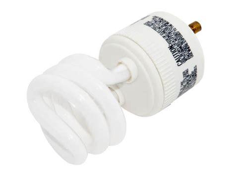 greenlite 9w warm white spiral cfl bulb gu24 base 9w