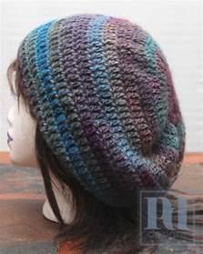 Free Crochet Slouchy Beanie Hat Pattern