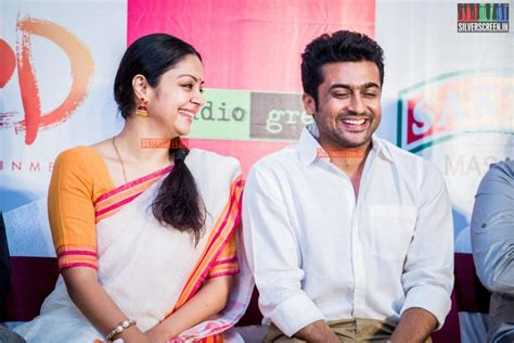 actress jyothika surya facebook suriya jyothika likely to act together silverscreen in