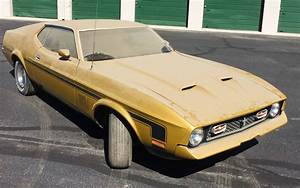 BF AUCTION: 1972 Mustang Mach 1