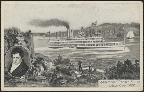 Steamboat Fulton by Museum Of The City Of New York Steamboat Robert Fulton