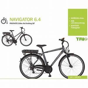 E Bike Test Trekking : prophete navigator 6 4 trekking ebike 2016 ~ Kayakingforconservation.com Haus und Dekorationen