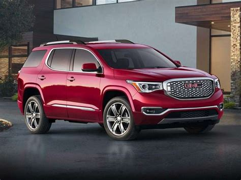 gmc acadia pictures including interior  exterior