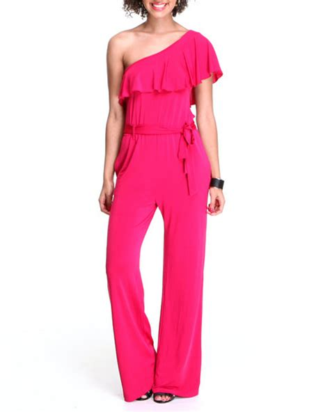pink jumpsuits pink jumpsuit dressed up