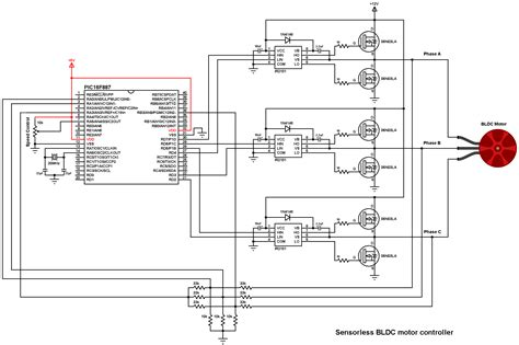Brushless Motor Control With Picf Microcontroller