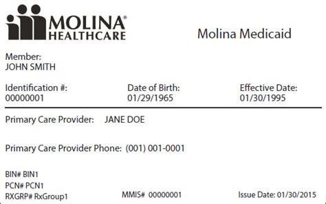 Pharmacies often use rx group numbers to process prescription benefits. Group Number On Molina Insurance Card