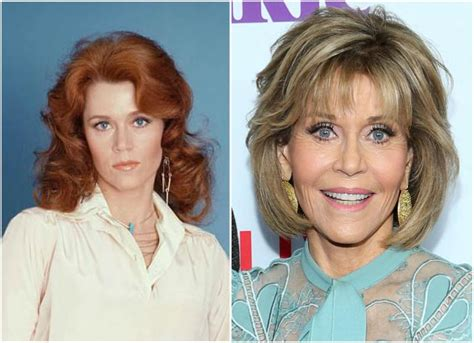 Jane Fonda's height, weight. At 79 she looks prettier that ...