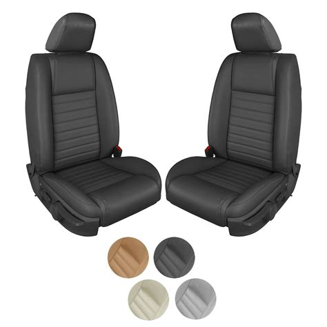 automobile air conditioning repair 2007 ford mustang seat position control 2005 2007 ford mustang gt coupe full leather seat upholstery set w o seat side air bag