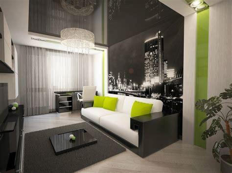 Wohnzimmer Ideen Wandgestaltung Schwarz Rheumricom