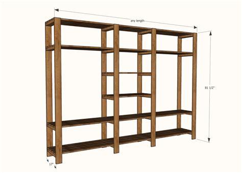 simple closet building plans ideas home plans