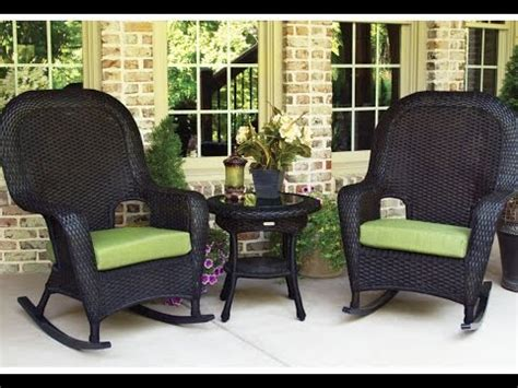 outdoor wicker rocking chairs outdoor black wicker rocking