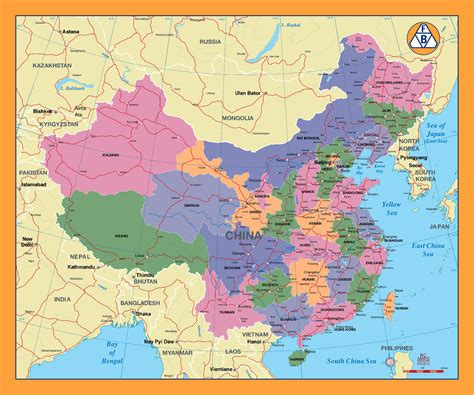 china city maps maps  major cities  china