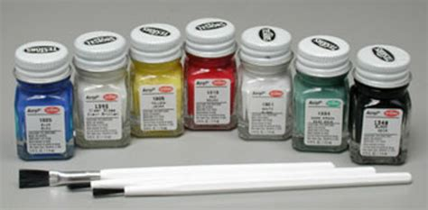 testors te9155 paint brushes finishes