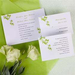 inexpensive wedding invitations modern green wind bell printable wedding invitations ewi069 as low as 0 94