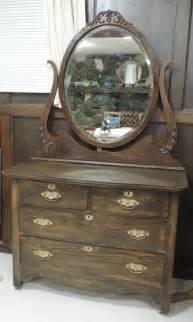 ebay dressers with mirrors antique oak dresser with oval beveled mirror ebay