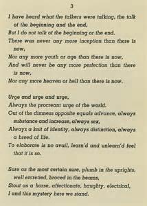 Song of My Self Walt Whitman