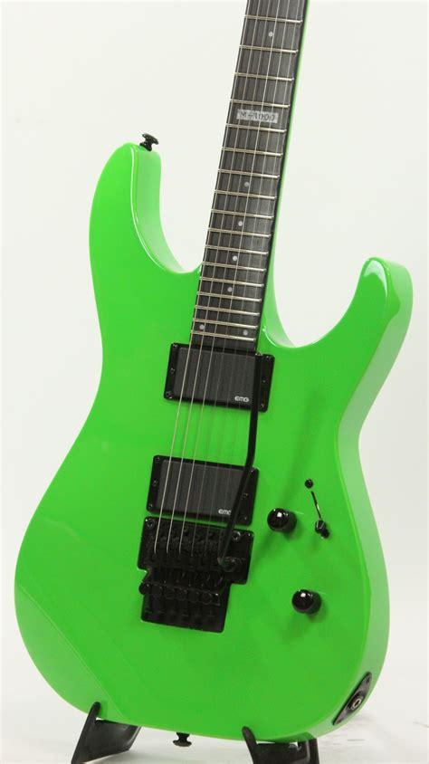 ESP LTD M-1000 NG Neon Green Electric Guitar