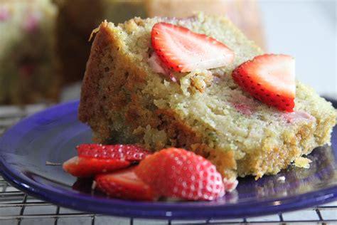 strawberry zucchini lime bundt cake baker  nature