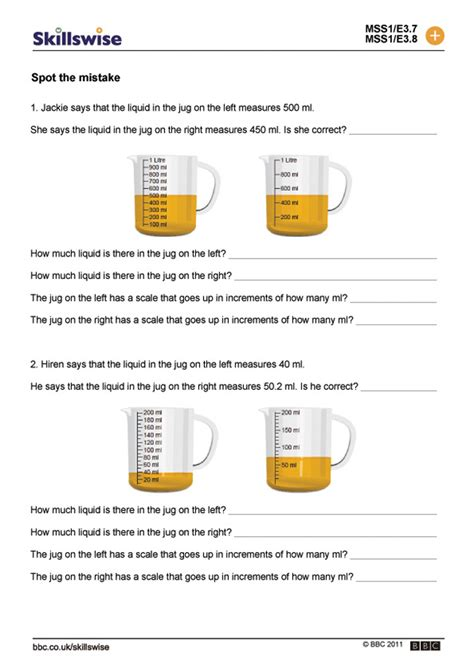 graduated cylinder measuring liquid volume worksheet free printables worksheet