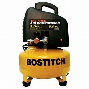 Shop STANLEY-BOSTITCH 2 HP 6-Gallon 135 PSI Electric Air