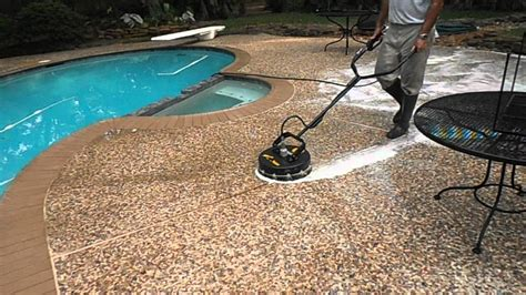 Cleaning Pool Deck With by Pool Deck Color Ideas