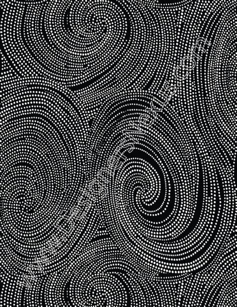 swirling pindots  fabric pattern designers nexus