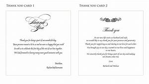 wedding thank you card ideas fortworthweddingmallcom With thank you notes for wedding gifts templates